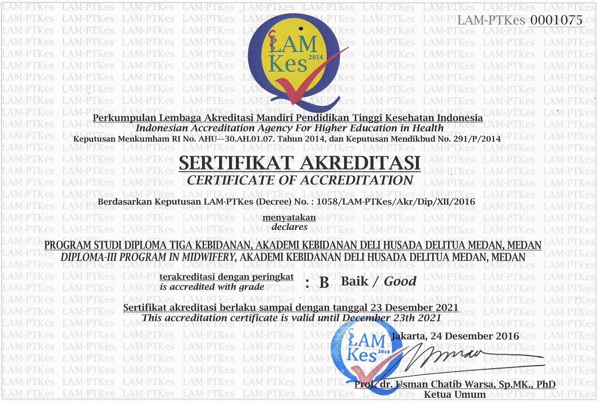 akreditasi akbid